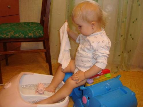 ванны ножные
