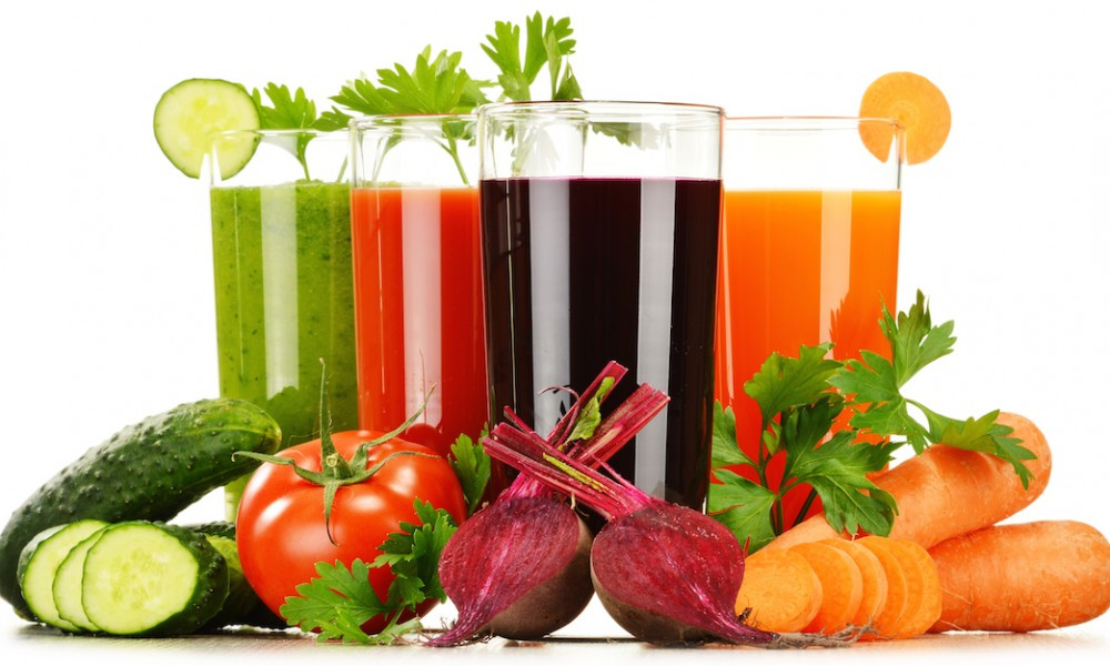 Пить овощные соки
