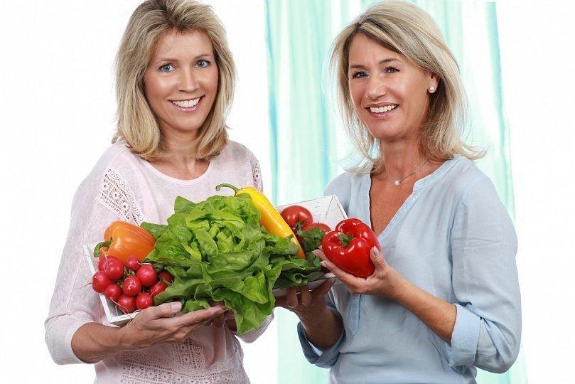 Диета при похудении климакс