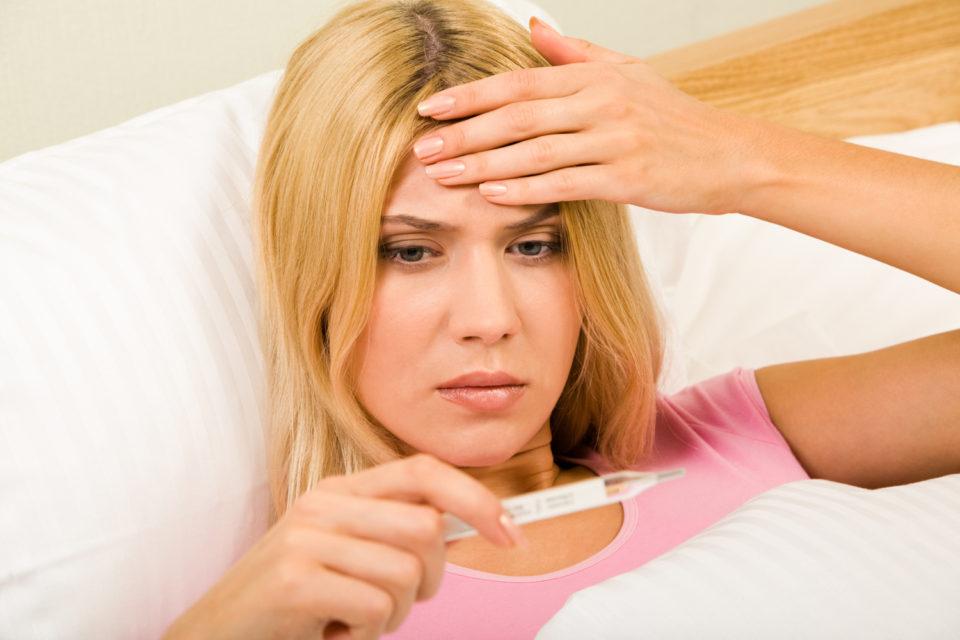 Повышение температуры тела при беременности на ранних сроках