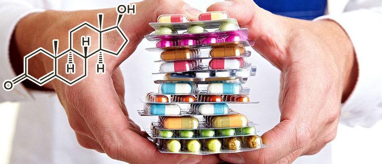 Пить таблетки для поднятия тестостерона