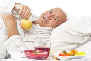 Здоровое питание пожилых людей