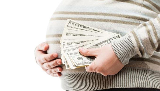 вознаграждение для суррогатной матери