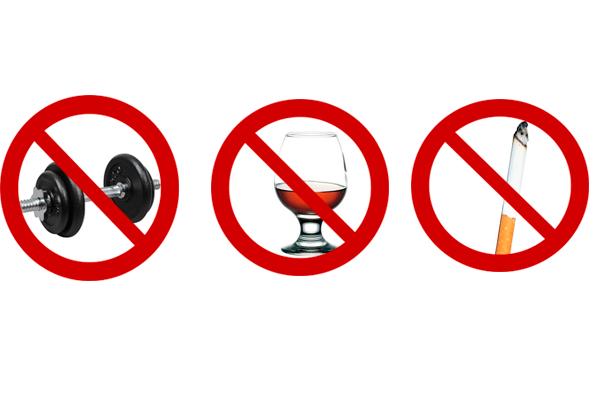 Перечень запретов перед анализом на волчаночный антикоагулянт