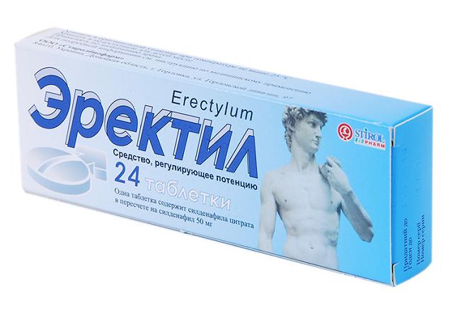 Препарат Эректил