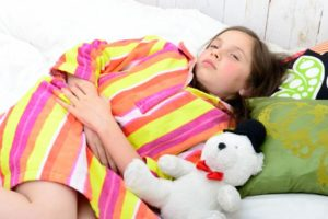 у ребенка понос и живот болит