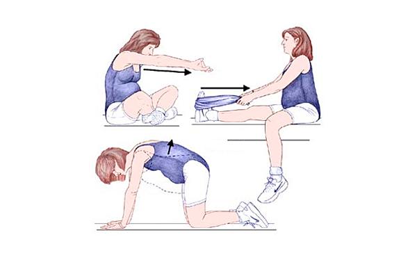 Гимнастика при беременности на 25-й недели