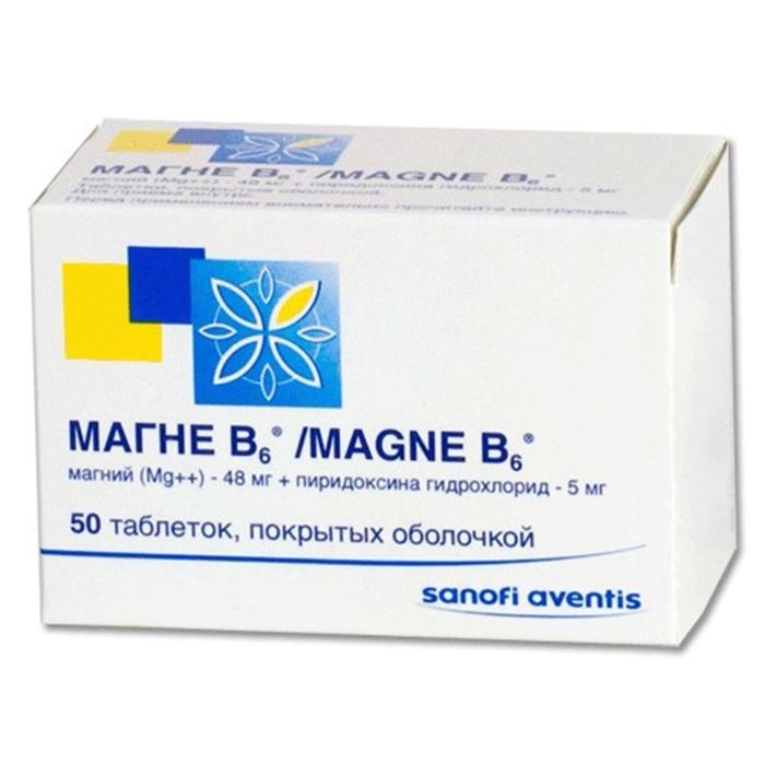 Витамины Магне В6
