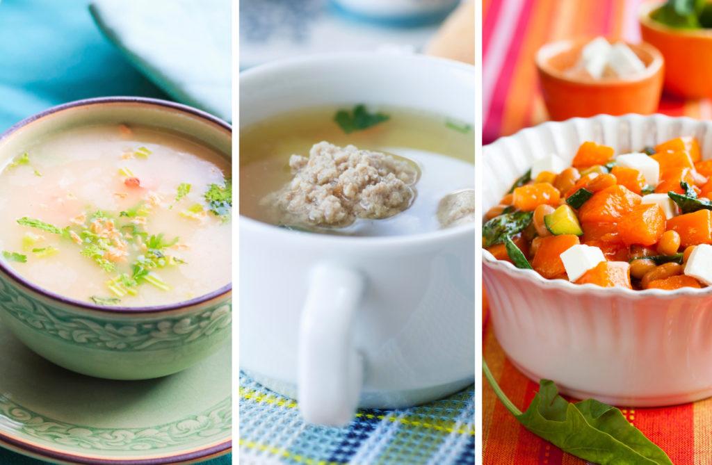 супы и каши
