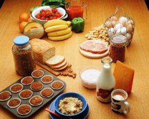 Разнообразные продукты